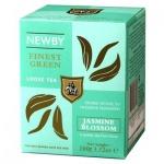 Чай Newby Jasmine Blossom (Жасмин блоссом), зеленый, листовой, 100 г