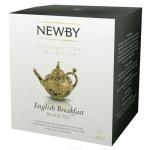 Чай Newby English Breakfast (Инглиш брекфаст), черный, в пирамидках, 15 пакетиков