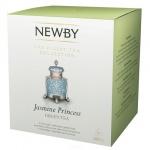 Чай Newby Jasmine Princess (Жасмин принцесс), зеленый, в пирамидках, 15 пакетиков