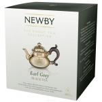 Чай Newby Earl Grey (Эрл Грей), черный, в пирамидках, 15 пакетиков