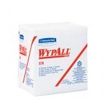 Протирочные салфетки Kimberly-Clark WypAll Х70 8387, листовые, 76шт, 1 слой, белые