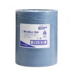 Протирочный материал Kimberly-Clark WypAll Х80, 8374, высокая впитываемость, в рулоне, 180.5м, 1 слой, синий