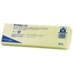 Протирочные салфетки Kimberly-Clark WypAll Х80, листовые, 25шт, 1 слой, желтый
