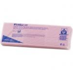 Протирочные салфетки Kimberly-Clark WypAll Х80 7568, листовые, 25шт, 1 слой, красные