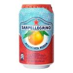 Напиток газированный Sanpellegrino, ж/б, розовый апельсин