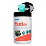 Протирочные салфетки Kimberly-Clark WypAll 7772, в рулоне, в тубе, 50шт, зеленые