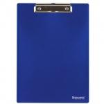 Клипборды без крышки Brauberg Contract синяя, А4, 223490