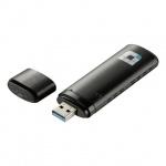 Адаптер беспроводной USB D-Link Wi-Fi DWA-182 300/867 мбит/с, 802.11ac