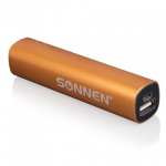 Внешний аккумулятор универсальный Sonnen PB 2200, 2200mАh, золотистый
