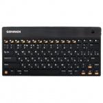 Клавиатура беспроводная Bluetooth Sonnen KB-B100 черная
