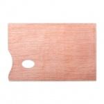 Палитра для рисования Невская Палитра прямоугольная, 20х30см, дерево, DK18434
