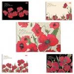 Альбом для рисования Hatber Маки, А4, 100 г/м2, 40 листов