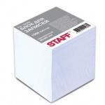 Блок для записей проклеенный Staff белый, 80х80мм, 1000 листов