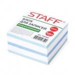 Блок для записей непроклеенный Staff 4 цвета, 90х90мм