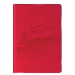 Тетрадь Brauberg Sport, A5, 128 листов, в клетку, на сшивке, искусственная кожа