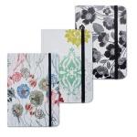 Блокнот Brauberg Inspiration, А7+, 80 листов, в клетку, на сшивке, ламинированный картон, на резинке