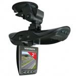 Видеорегистратор автомобильный Sonnen DVR-540 FullHD 120°, microSD, HDMI, экран 2''