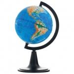 Глобус физический Глобусный Мир 12см, на круглой подставке, 10001