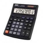 Калькулятор настольный Staff STF-444-12 черный, 12 разрядов