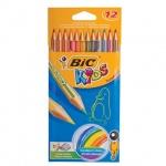 Набор цветных карандашей Bic Tropicolors 2 12 цветов, 832566