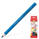 Набор цветных карандашей Koh-I-Noor Mona Lisa Jumbo, 6 цветов