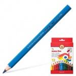 Набор цветных карандашей Koh-I-Noor Mona Lisa Jumbo 12 цветов, 3371/12