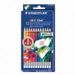 Набор цветных карандашей Staedtler Noris club 12 цветов, с ластиком, 14450NC12