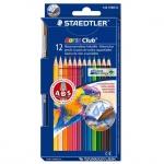 Набор акварельных карандашей Staedtler Noris Club, 12 цветов