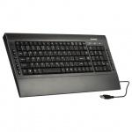 Клавиатура проводная USB Sonnen KB-M530, серо-голубая