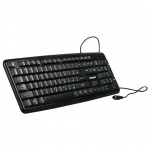 Клавиатура проводная PS/2 Sonnen KB-100B, черная