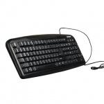 Клавиатура проводная PS/2 Sonnen KB-110, черная