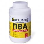 Клей ПВА Brauberg универсальный 1 кг