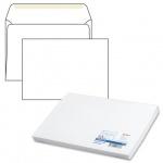 Конверт почтовый Курт С4 белый, 229х324мм, 90г/м2, 50шт, декстрин