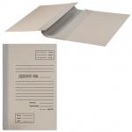 Архивная папка для переплета серая, А4, 40 мм