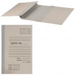 Архивная папка для переплета серая, А4, до 1000 листов