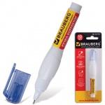 Корректирующая ручка Brauberg 10мл, в блистере