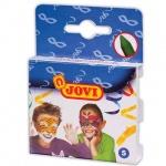 Грим для лица Jovi 5 цветов, пластиковая коробка