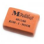 Ластик Koh-I-Noor Mondeluz 6811/60 31х21х8мм, оранжевый