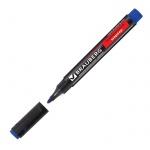 Маркер перманентный Brauberg Energy синий, 3мм, круглый наконечник