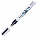 Маркер перманентный Zebra Paint черный, 2мм, круглый наконечник