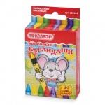 Набор восковых карандашей Пифагор 24 цвета, 222964