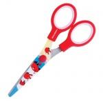Ножницы детские Brauberg Краб 13см, красные