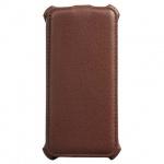 Чехол для Apple iPhone 5/5S Sonnen Concept коричневый, вертикальный, искусственная кожа