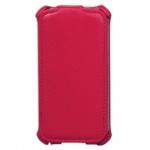 Чехол для Apple iPhone 4/4S Sonnen Elegance красный, вертикальный, искусственная кожа