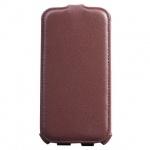 Чехол для Samsung Galaxy S4 Sonnen Concept коричневый, вертикальный, искусственная кожа