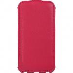 Чехол для Samsung Galaxy S4 Sonnen Elegance красный, вертикальный, искусственная кожа