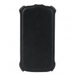 Чехол для Samsung Galaxy S3 Sonnen Respect черный, вертикальный, кожзам