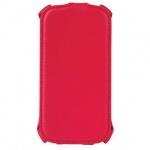 Чехол для Samsung Galaxy S3 Sonnen Elegance красный, вертикальный, искусственная кожа