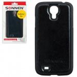 Чехол для Samsung Galaxy S4 Sonnen Respect черный, пластик, искусственная кожа