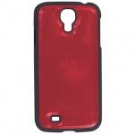 Чехол для Samsung Galaxy S4 Sonnen Elegance красный, пластик, искусственная кожа